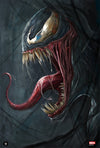 """Venom"" - Officially licensed & Limited Edition - Marvel Comics Poster Art By Robert Bruno 