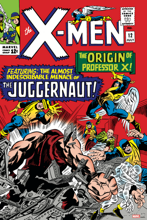 X-Men #12 Story by Stan Lee - Cover Art by Jack Kirby & Frank Giacoia