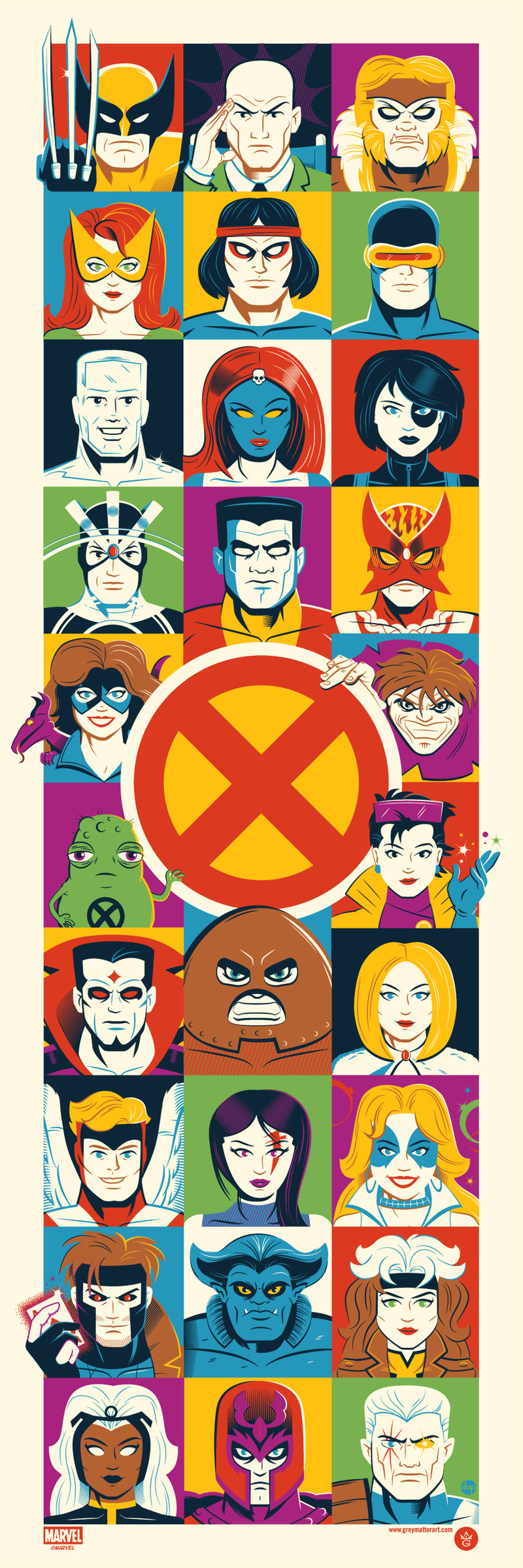X-Men by Dave Perillo