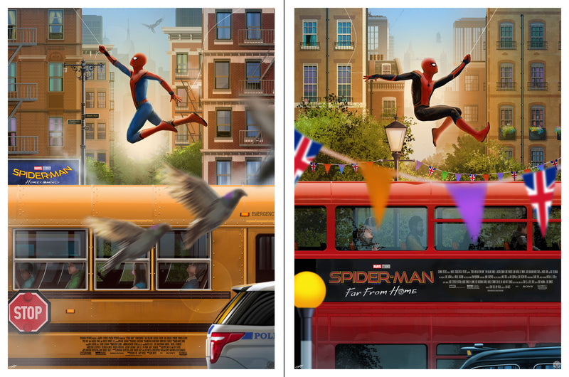 """Spider-Man: Homecoming & Far from Home"" Set by Andy Fairhurst"