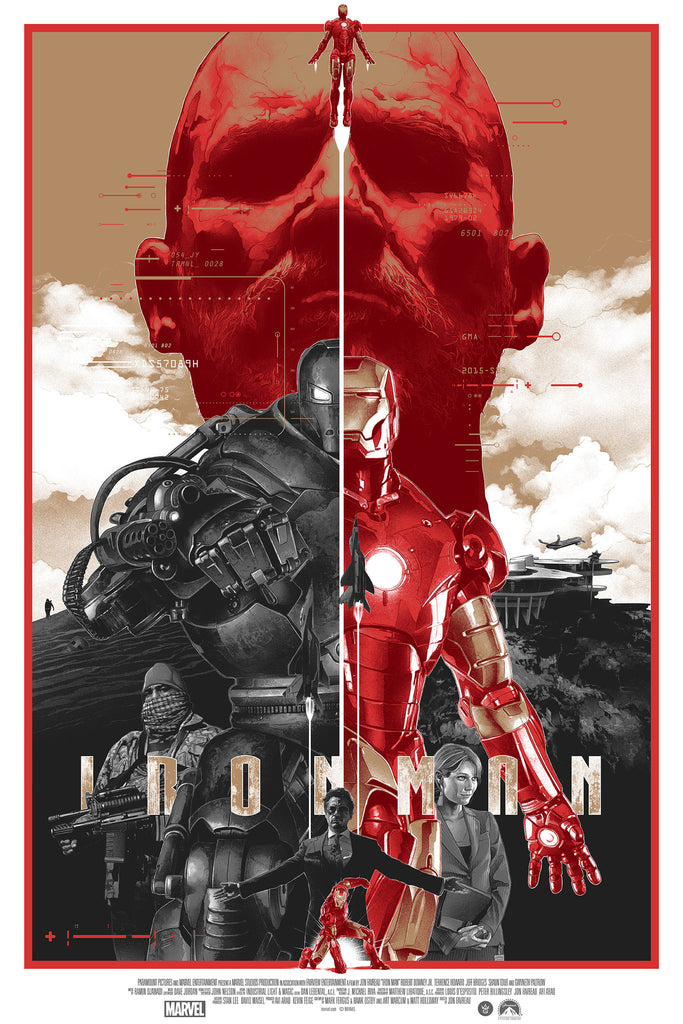 """Iron Man"" Paper Variant Edition by Gabz"