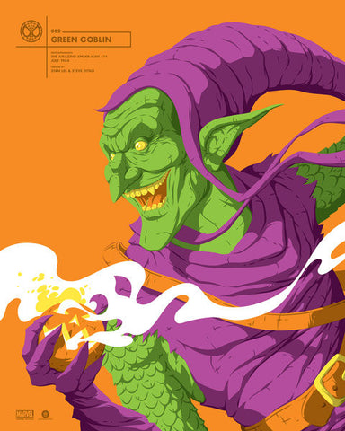 Green Goblin by Florey