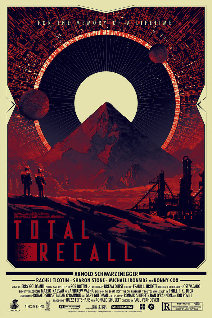 """Total Recall"" Regular Edition by Matt Ferguson - Grey Matter Art"