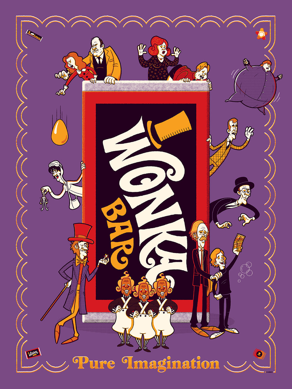 Willy Wonka & the Chocolate Factory by Ian Glaubinger