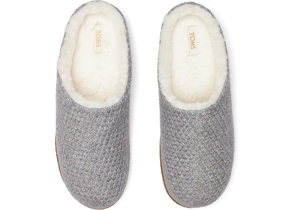 Toms Drizzle Grey Slippers