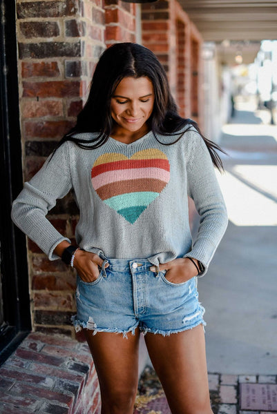 Desert Heart Light Weight Sweater