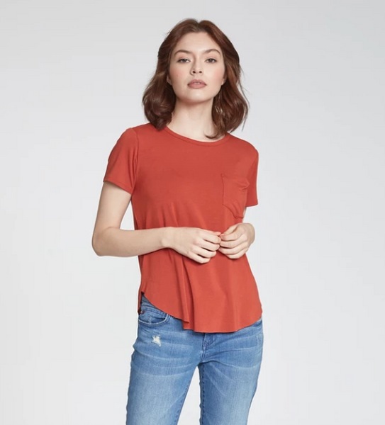Sam Crew Neck Tee - 5 Colors