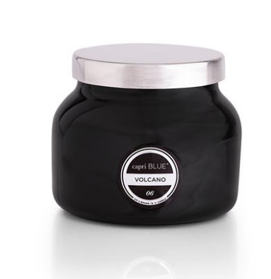 Volcano Candle -Black