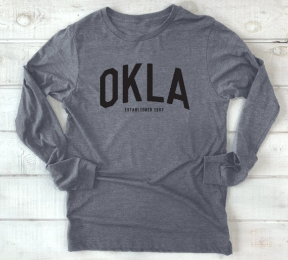 Okla Triblend Long sleeve Shirt