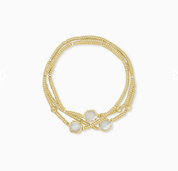 Tomon Gold Stretch Bracelet