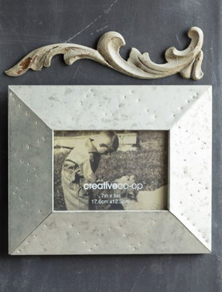 Metal Photo Frame 7 x 5 in