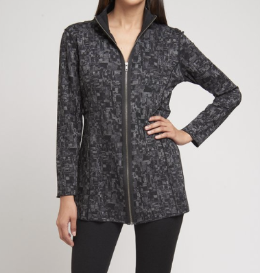 Lynn Ritchie Mono Brush Reversible Jacket