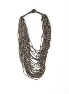 Seed Bead Multi Layer Necklace - 2 Colors