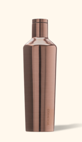 Corkcicle 25oz Canteen - Walnut or Copper
