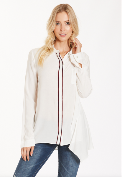 Dear John Kristin Seam Shirt - White