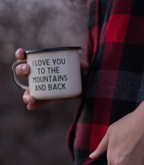 The Parks Mountail Lovin Enamel Camp Mug