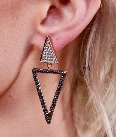 Caroline Hill Timmons Triangle Earring