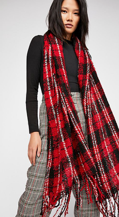 Free People Emerson Plaid Scarf - 2 Colors