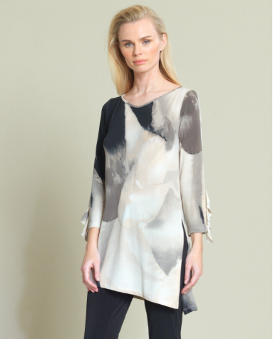 Watercolor Print Tunic