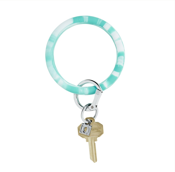 O-Venture - Marbled Big O Key Ring
