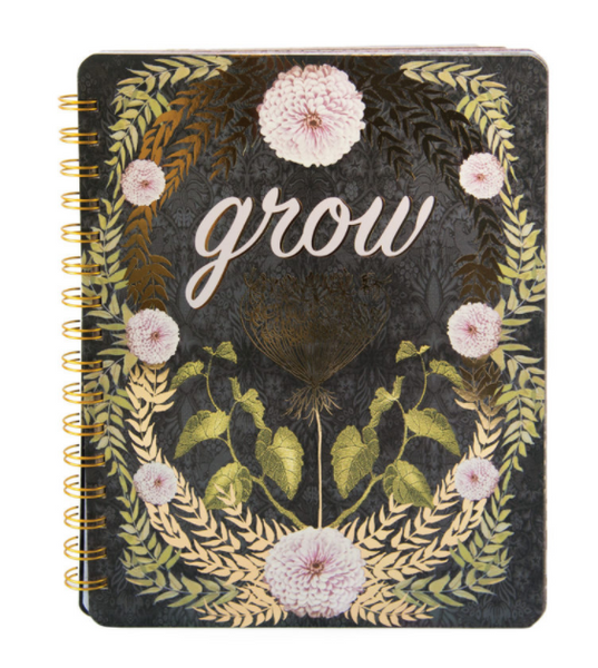 Grow or Beauty Ring Notebook
