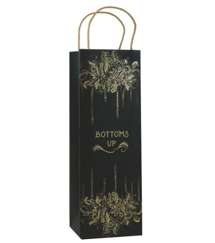 Cheers or Bottoms Up Wine Bags