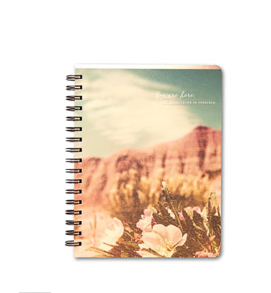 You Are Here Now or Do Something Remarkable Notebook