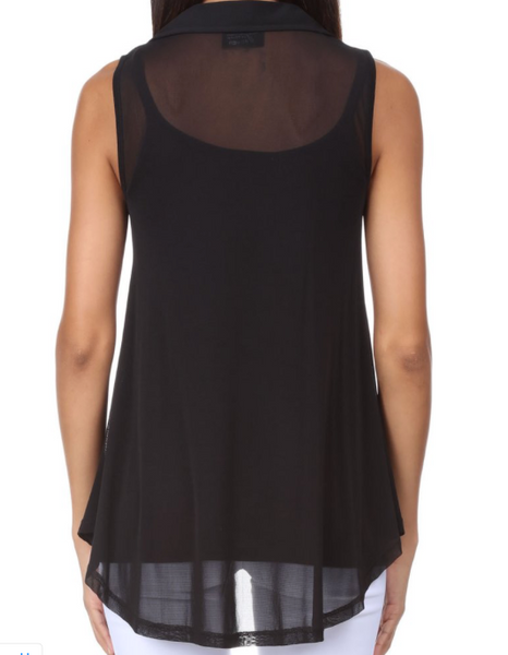 Lynn Ritchie Sleeveless Hi Lo