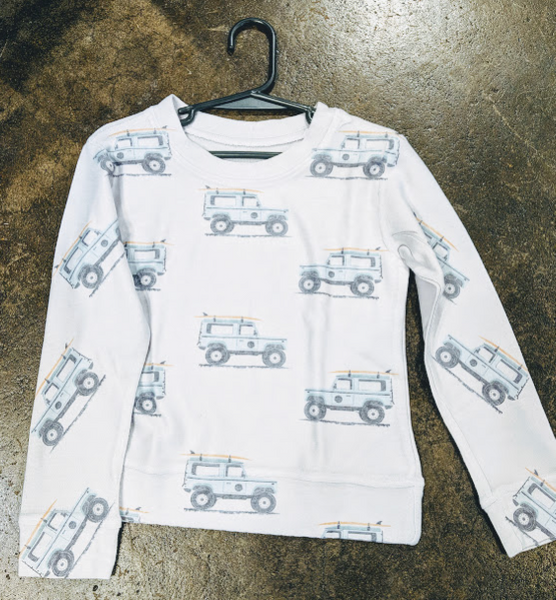 Surf Jeep Kids Sweatshirt