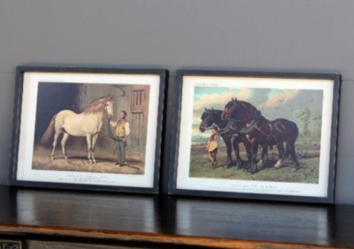 Carriage & Workhorse Framed Prints - 2  Prints