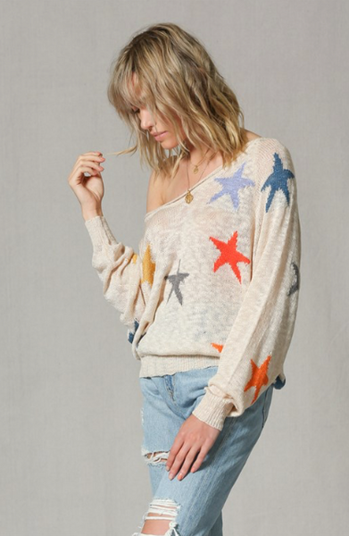 Color Star Pullover