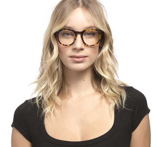 Weston Unisex Blue Light Blocking Glasses - Amber Tortoise