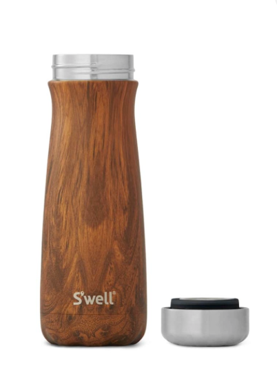 Swell Traveler in Teakwood - 20 Oz