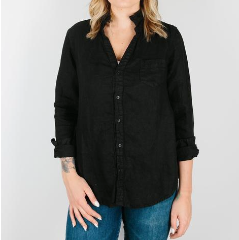 CP Shades Sloane Button Up - Black