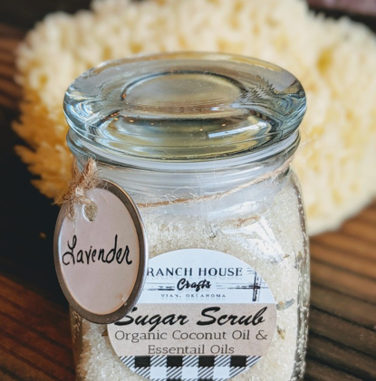 Ranch House Crafts Sugar Scrubs - 4 Scents