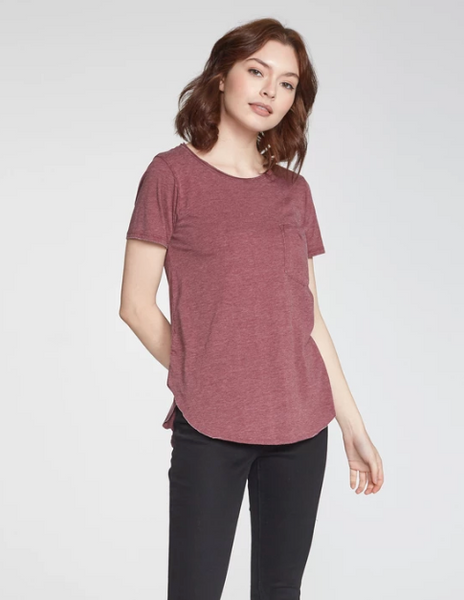 Sam Burnout Crew Neck Tee - 2 Fall Colors