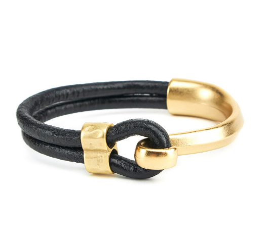 Canoe Hook Bracelet - Gold or Silver