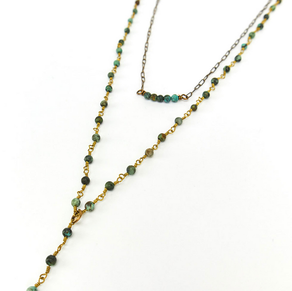 Canoe African Turquoise with Crescent