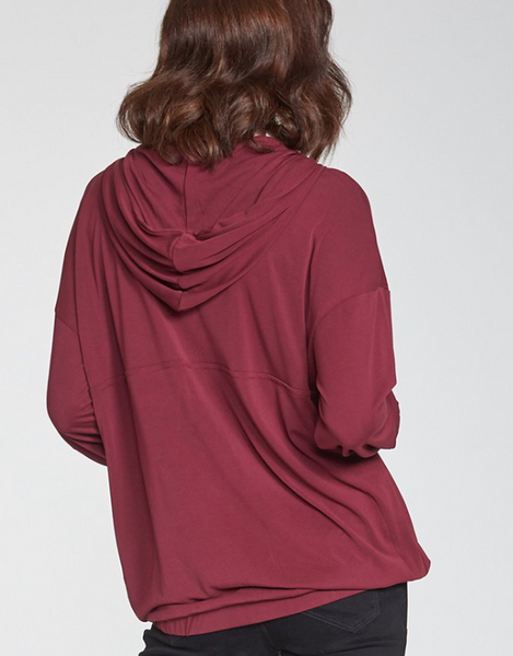 Georgie Pullover - Bordeaux