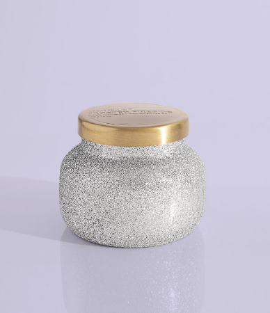 Frosted Fireside Petite Glam Jar - 8 oz