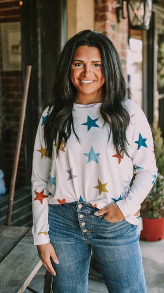 Multi-Color Star T-Shirt
