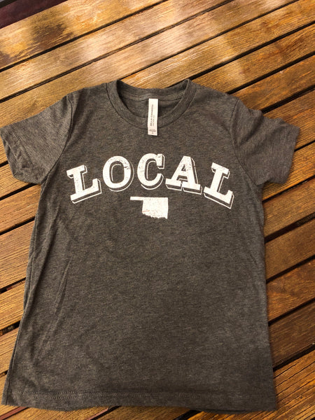 Kids Gray local Tee