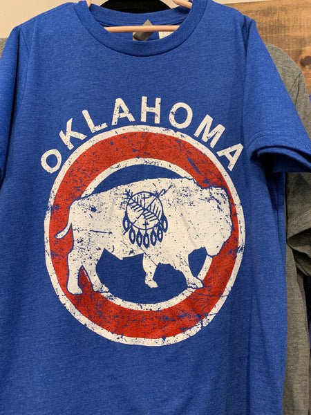 Red White & Blue Oklahoma T - Youth