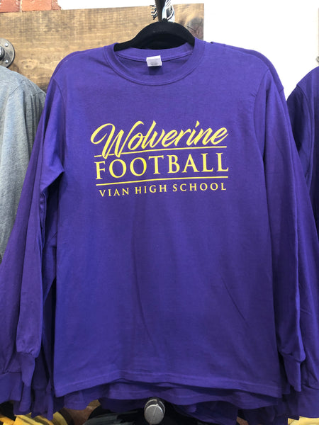 Wolverine Football Long sleeve
