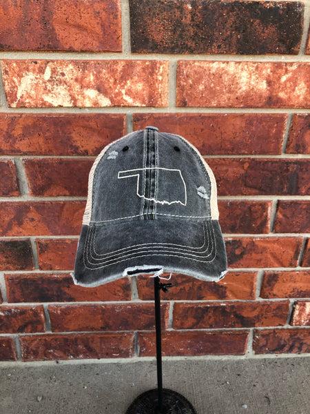 OKLAHOMA Outline Hat