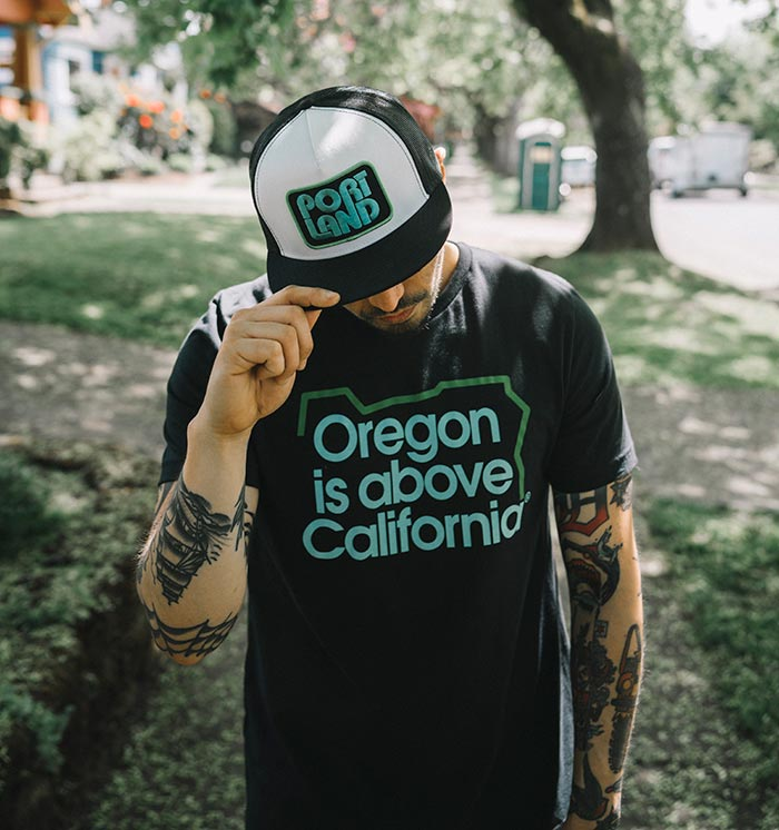 Oregon T-Shirt, Oregon is Above Tee