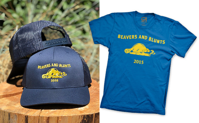 Beavers and Blunts T-Shirt and Hat