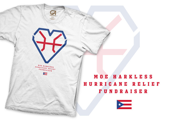 Moe Harkless Hurricane Relief T-Shirt
