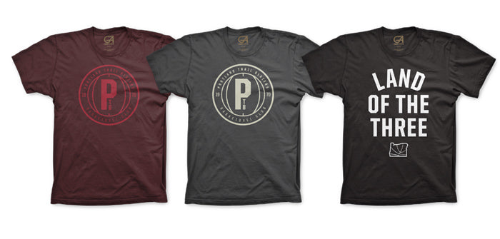 Portland T-Shirts | Rip City Clothing T-Shirt | Land of the Three | Grafletics