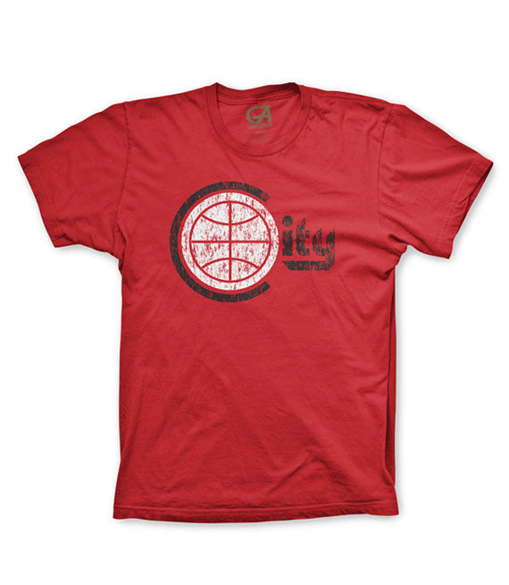 The City of Portland Basketball Tee by Grafletics